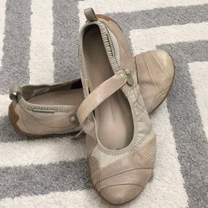 Merrell walking shoes.